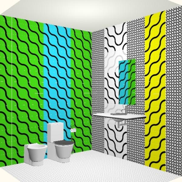 Плитка керамин лабиринт в интерьере