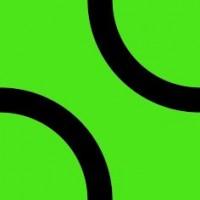 Настенная плитка Лабиринт 4 зеленая 20х20 матовая