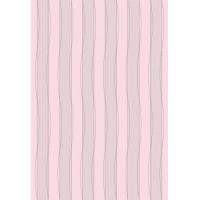 Настенная плитка СКАЗКА 1Т  матовая 400х275 (розовая полоска) с антибактериальным покрытием Microban