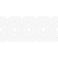 Декор Аккорд Белый