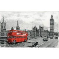 Декор СИРИУС красный автобус (новинка!)