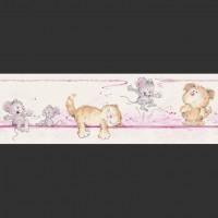 Детские бумажные обои БОРДЮР коллекция PICCOLO арт.272116