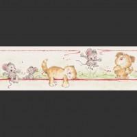 Детские бумажные обои БОРДЮР коллекция PICCOLO арт.272185