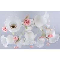 Люстра Aurora Sch MD12187-6+1,7хЕ27/60W розы