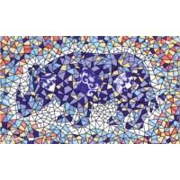 Декор орнамент глянцевая D697a - 33x20