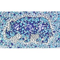Декор орнамент глянцевая D697 - 33x20