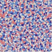 Напольная плитка орнамент глянцевая GDF2 - 33x33