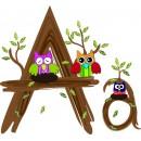 Детская плитка декор буква A