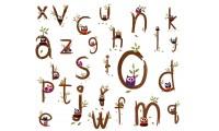 Коллекция буковки - английский алфавит (26)