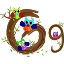 Детская плитка декор буква G