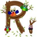 Детская плитка декор буква R