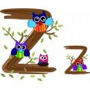 Детская плитка декор буква Z