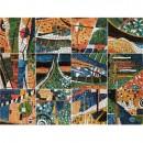 Панно Mural Gaudi 6P ( из 6 плиток) 150x50