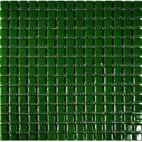 Мозаика МОНОКОЛОР 20SP 1030 темно-зеленая 20х20 KERAMISSIMO