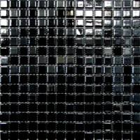 Мозаика МОНОКОЛОР 20SP 2007 черная 20х20 KERAMISSIMO