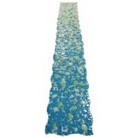 Растяжка из мозаики морские камешки DGZ-1 голубая KERAMISSIMO