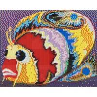 Мозаичное панно Сказочная Рыба. Серия СКАЗКИ