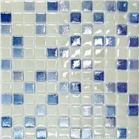 Мозаика стеклянная SCM-050 25X25 микс KERAMISSIMO