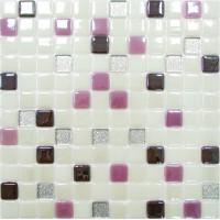 Мозаика стеклянная SCM-209 25X25 микс KERAMISSIMO