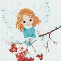Ангелочек мозаичное панно PK-002
