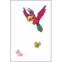 Декор Розовый попугай